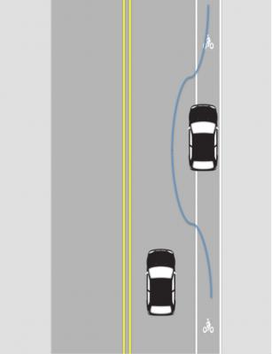 Bad lane violation