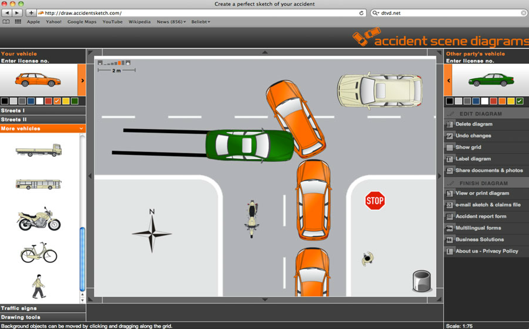 Wonderful Accident Diagram Software Ideas - Everything You Need to ...